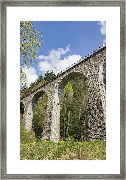 Ravenna Gorge Viaduct 04 Framed Print