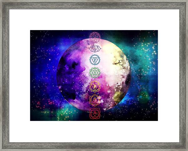Reach Out To The Stars Framed Print