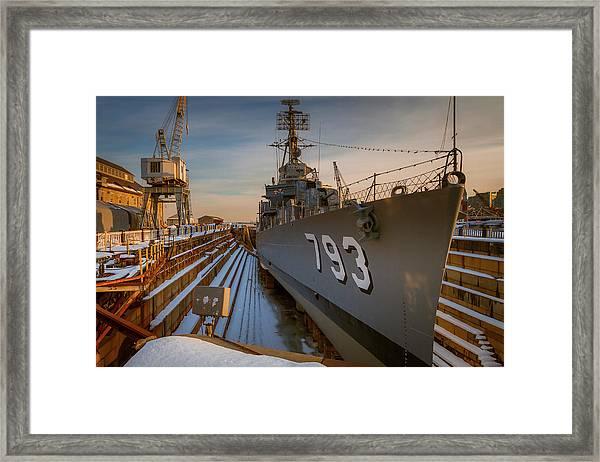 Ready For Sea Framed Print