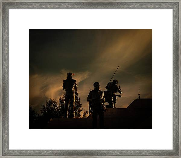 Reconciliation Framed Print