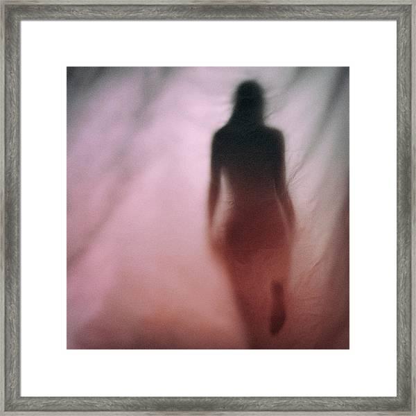 Red #0640 Framed Print