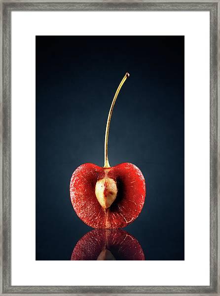 Red Cherry Still Life Framed Print
