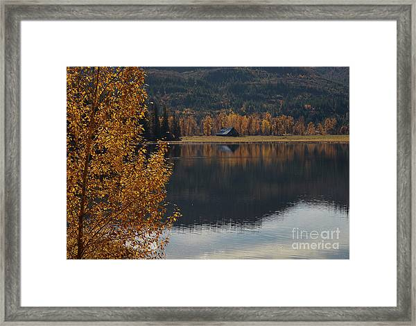 Reflections Of Country Framed Print