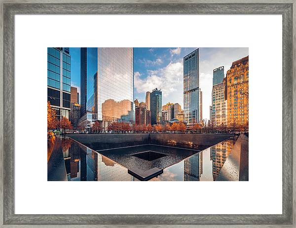 Reflections On History Framed Print