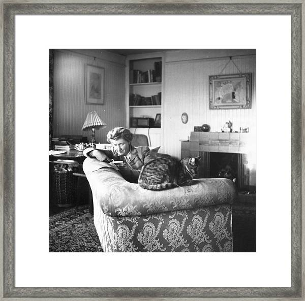Relaxing Framed Print by Carl Sutton