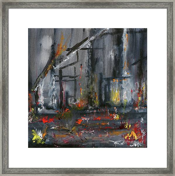 Remains Framed Print