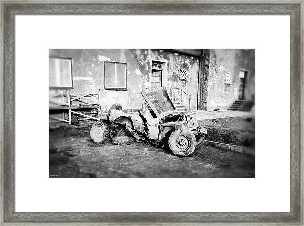 Remnants Of War Framed Print