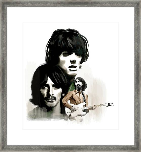 Requiem II George Harrison Framed Print