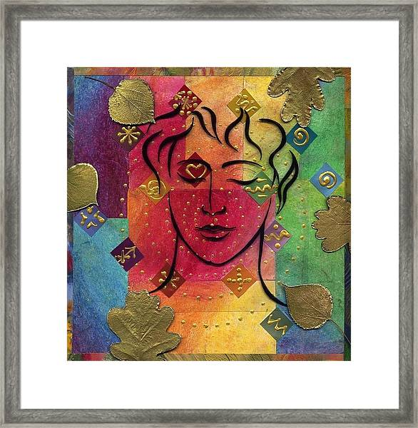 Reveal Your Beauty Framed Print