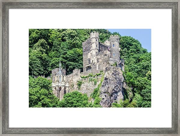 Rheinstein Castle Framed Print