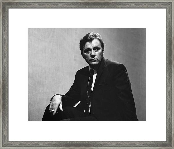 Richard Burton Framed Print