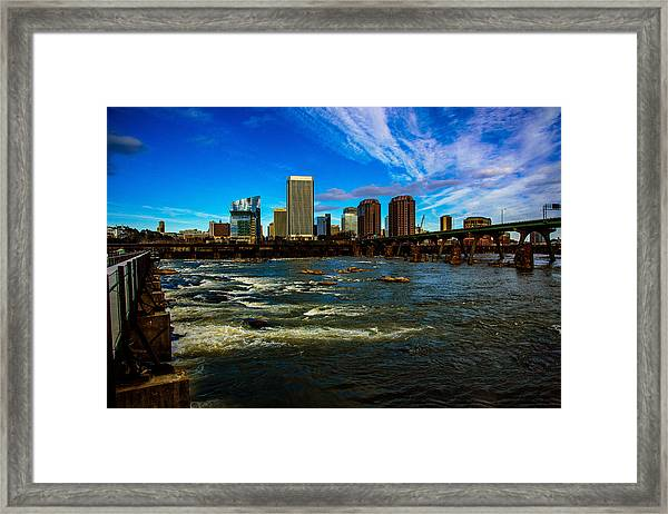 Richmond On The James  Framed Print