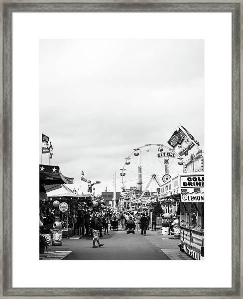 Rides Framed Print