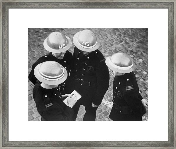Rings Denote Rank Framed Print