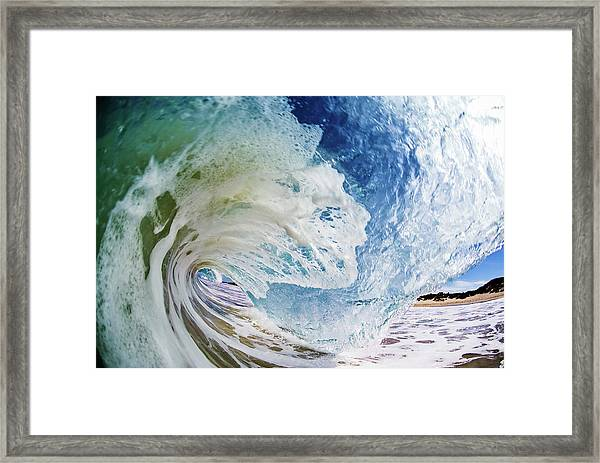 Rinse Cycle Framed Print