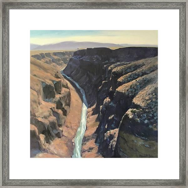 Rio Grande Gorge Framed Print