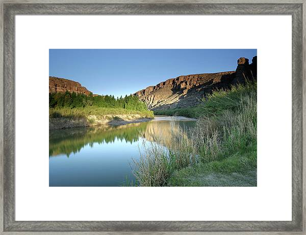 Rio Grande Morning Framed Print