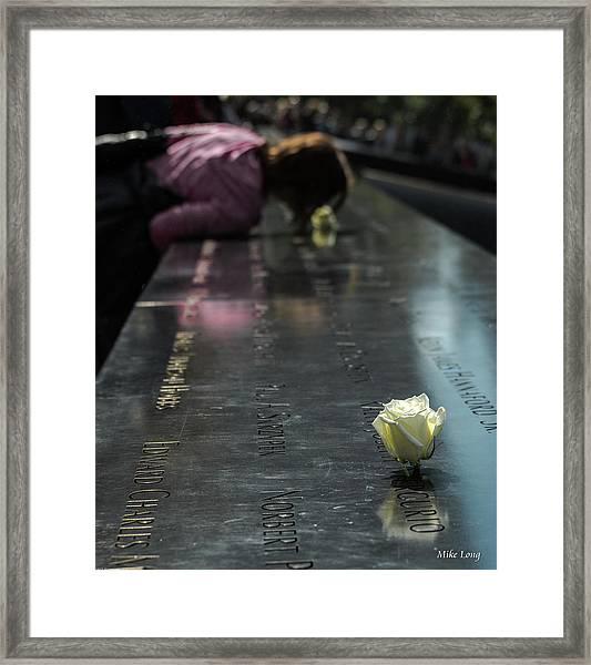 R.i.p. Sweet Brother Framed Print