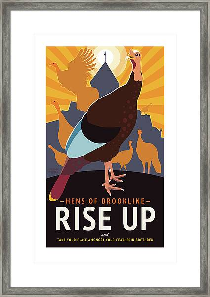 Rise Up Framed Print