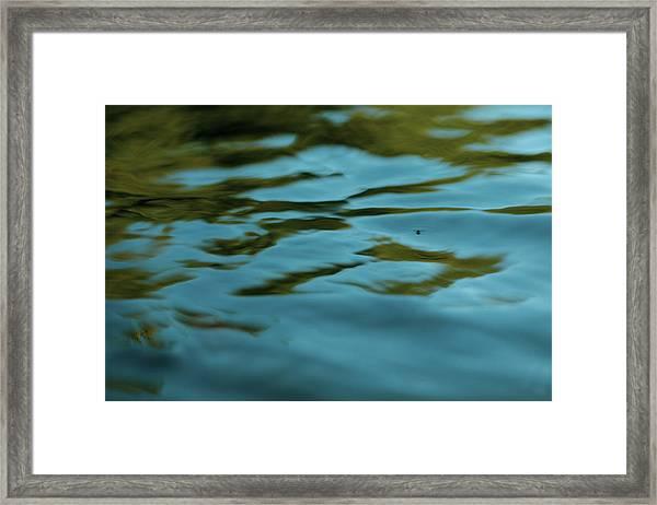 River Ripples Framed Print