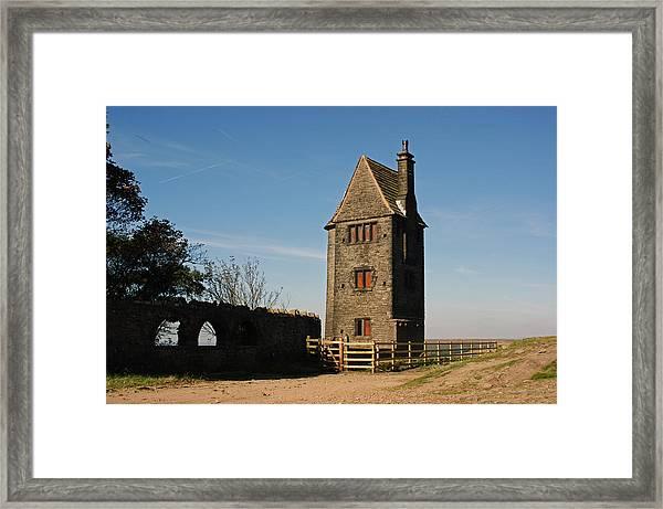 Rivington. The Pigeon Tower. Framed Print