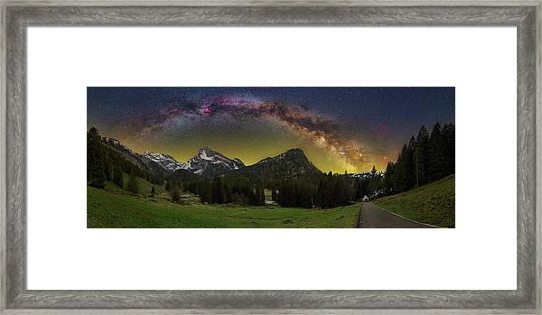 Road To Heaven Framed Print