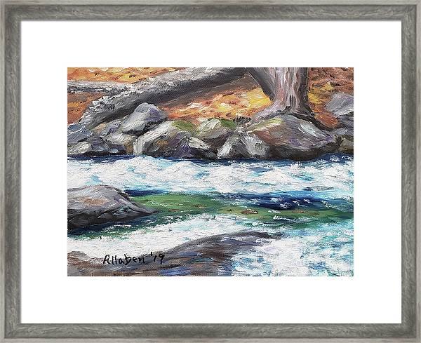 Roaring Brook Framed Print