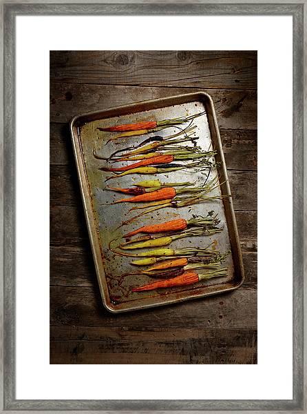 Roasted Carrots Framed Print