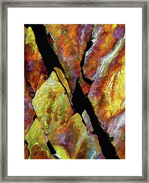 Rock Art 17 Framed Print