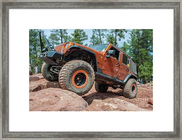 Rock Crawlin Framed Print