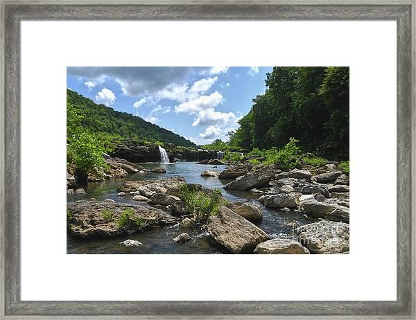 Rock Island State Park 7 Framed Print