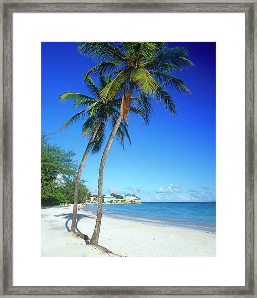 Rockley Beach, South Coast, Barbados Framed Print