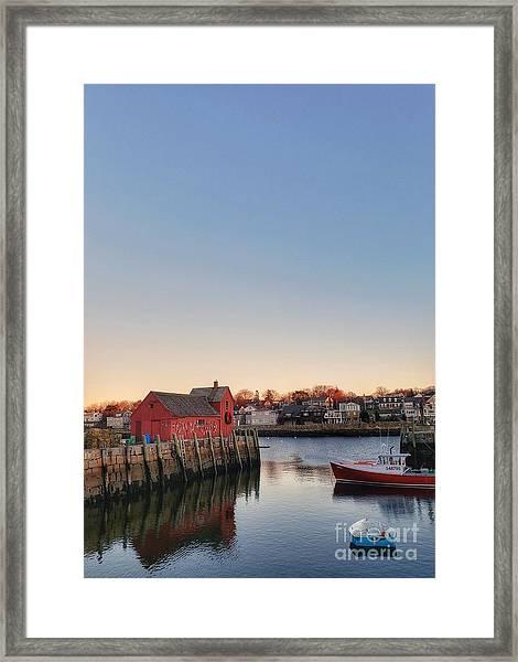 Rockport Massachusetts  Framed Print