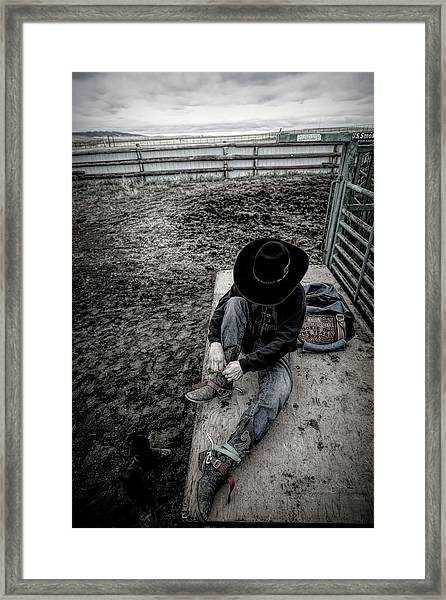 Rodeo Rider Framed Print