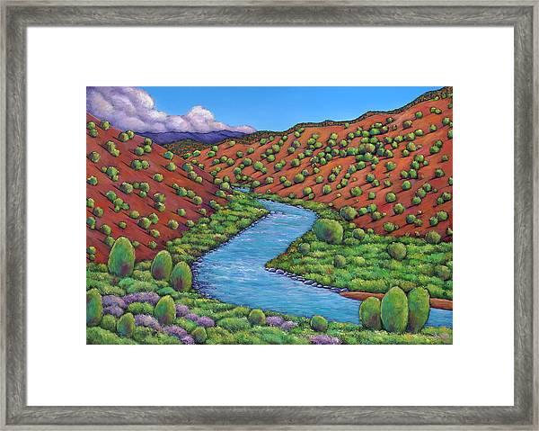 Rolling Rio Grande Framed Print