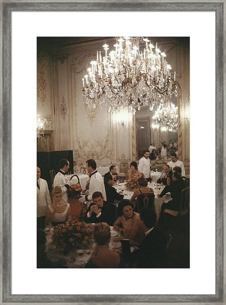 Roman Restaurant Framed Print