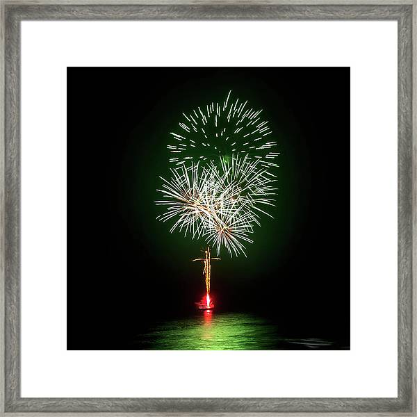 Romancing In The Dark Collection Set 01 Framed Print