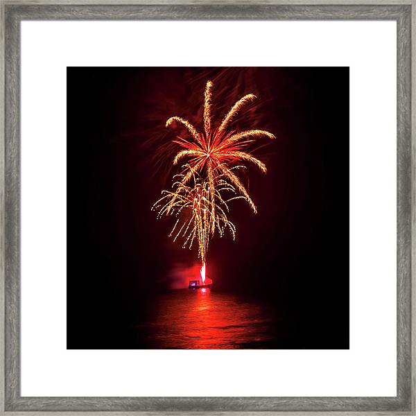 Romancing In The Dark Collection Set 02 Framed Print