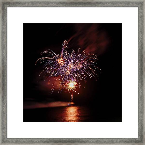 Romancing In The Dark Collection Set 03 Framed Print