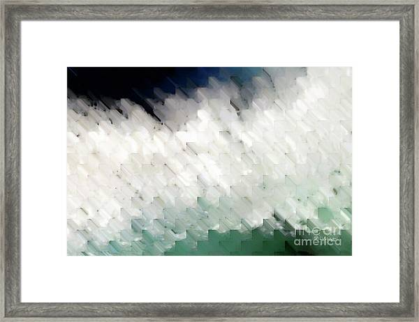 Romans 14 13. Stumbling Block Or A Stepping Stone Framed Print