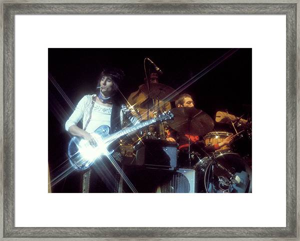Ron At Earls Court Framed Print