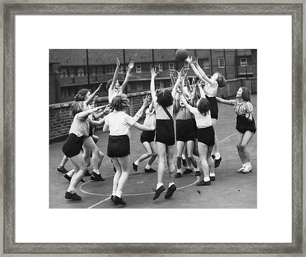 Rooftop Sports Framed Print