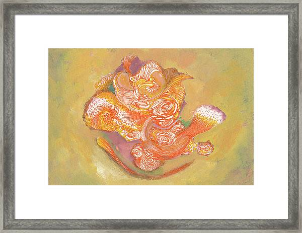 Rose - #ss19dw009 Framed Print by Satomi Sugimoto