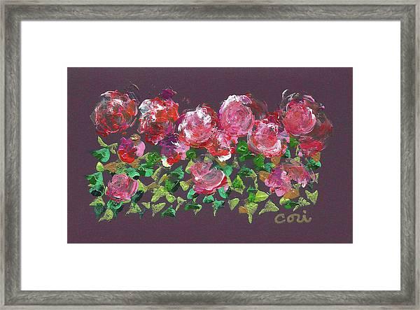 Roses 1001 Framed Print