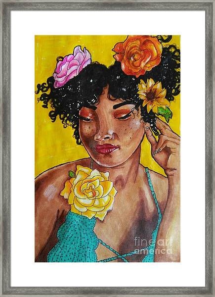 Rosie Framed Print by William Bryant