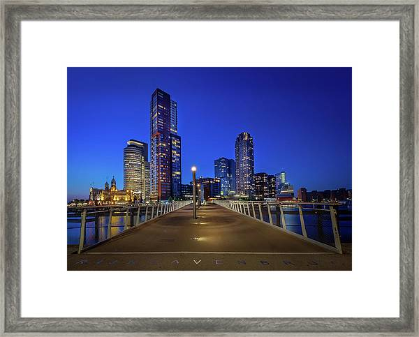 Rottedam Rijnhaven Bridge Framed Print