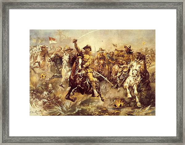 Rough Riders Framed Print
