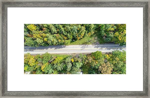 Route 54 Framed Print