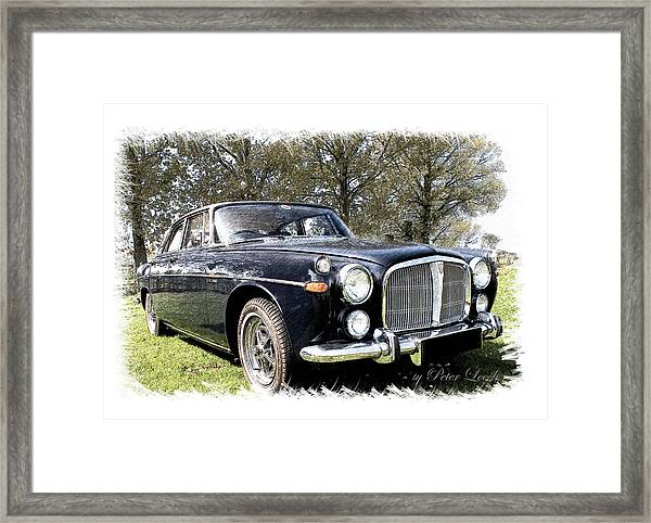 Rover 3.5 Coupe Framed Print