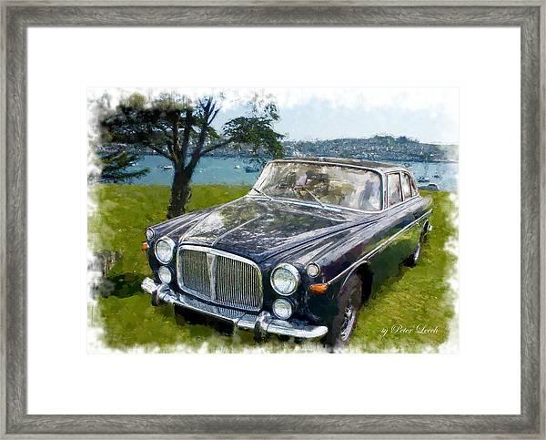 Rover 3.5 P5b Framed Print